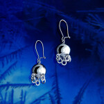 Traditional Cradle Ball Earring 11/5