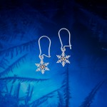 Snowflake Earring, small