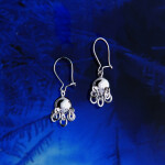 Traditional Cradle Ball Earring 8/5